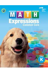 Math Expressions  Homework & Remembering Black Line Masters Grade K-9780547825250