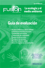 ScienceFusion Spanish  Assessment Guide Grades 6-8 Module D: Ecology and the Environment-9780547836065