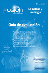 ScienceFusion Spanish  Assessment Guide Grades 6-8 Module H: Matter and Energy-9780547836102