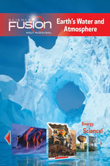 ScienceFusion  Student Edition Spanish Print/Online Bundle 7-year Module F: Earth's Water and Atmosphere-9780547851310