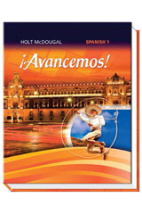 ¡Avancemos!  Homeschool Package Level 1-9780547858654