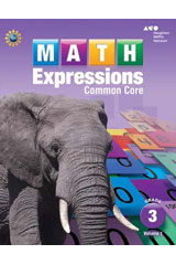 Math Expressions  Student Activity Book (Softcover) with Mathboards Grade 3-9780547859866