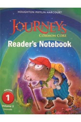 Journeys  Common Core Reader's Notebook Consumable Volume 2 Grade 1-9780547860619