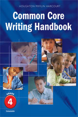 Journeys  Writing Handbook Student Edition Grade 4-9780547864525