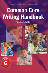 Journeys  Writing Handbook Teacher's Guide Grade 6-9780547865072