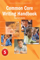 Journeys  Writing Handbook Teacher's Guide Grade 5-9780547865171