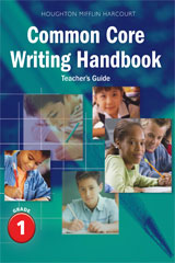 Journeys  Writing Handbook Teacher's Guide Grade 1-9780547865867
