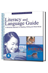 Journeys  Literacy and Language Guide Grade 4-9780547866505