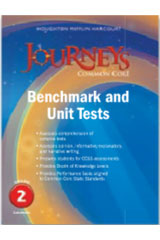 Journeys  Benchmark Tests and Unit Tests Consumable Grade 2-9780547871592