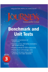 Journeys  Benchmark Tests and Unit Tests Consumable Grade 3-9780547871608