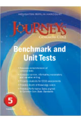 Journeys  Benchmark Tests and Unit Tests Consumable Grade 5 Grade 5-9780547871639