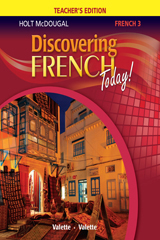 Discovering French Today  Teacher Edition Level 3-9780547871844