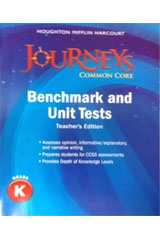 Journeys  Benchmark and Unit Tests Teacher's Edition Grade K-9780547872346