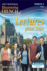 Discovering French Today  Lectures pour tous Student Edition Level 2-9780547872384