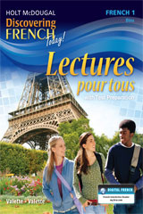 Discovering French Today Lectures pour tous Student Edition Workbook Level 1