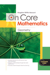 Houghton Mifflin Harcourt On Core Mathematics  Reseller Package Geometry-9780547873923