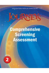Journeys  Comprehensive Screening Assessment Grade 2-9780547874326