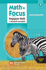 Math in Focus: Singapore Math  Assessment Grade 5-9780547875170