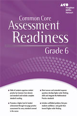 Holt McDougal Mathematics  Assessment Readiness Workbook Grade 6-9780547876337