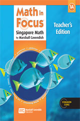 Math in Focus: Singapore Math  Teacher's Edition, Book A Grade 1-9780547876849