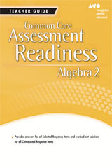 Holt McDougal Algebra 2  Assessment Readiness Workbook Teacher Guide-9780547877143