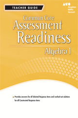 Holt McDougal Algebra 1  Assessment Readiness Workbook Teacher Guide-9780547877334