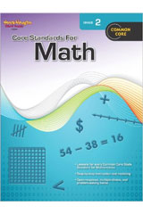 Core Standards for Math  Reproducible Grade 2-9780547878201