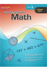 Core Standards for Math  Reproducible Grade 3-9780547878218