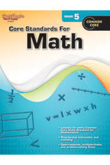 Core Standards for Math  Reproducible Grade 5-9780547878249