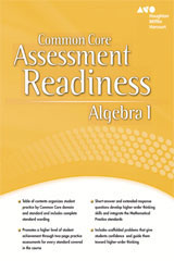 Holt McDougal Algebra 1  Assessment Readiness Workbook-9780547881263