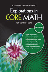 Explorations in Core Math Geometry