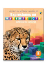 Expresiones en matemáticas  Student Activity Book (Hardcover) Collection Grade 5-9780547882178
