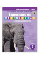 Expresiones en matemáticas  Activity Workbook Consumable Grade 3-9780547882741