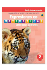 Expresiones en matemáticas  Homework and Remembering Consumable Collection Grade 2-9780547882796