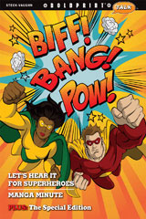Steck-Vaughn BOLDPRINT Talk  Teacher's Guide Biff! Bang! Pow!-9780547887593