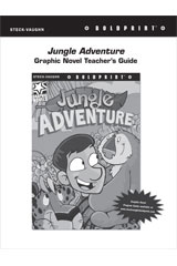 Steck Vaughn BOLDPRINT Graphic Novels  Teaching Cards Jungle Adventure-9780547887814
