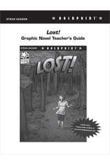 Steck Vaughn BOLDPRINT Graphic Novels  Teaching Cards Lost!-9780547887821