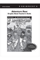 Steck Vaughn BOLDPRINT Graphic Novels  Teaching Cards Adventure Race-9780547887883