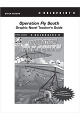 Steck Vaughn BOLDPRINT Graphic Novels  Teaching Cards Operation Fly South-9780547887920