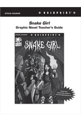 Steck Vaughn BOLDPRINT Graphic Novels  Teaching Cards Snake Girl-9780547887951