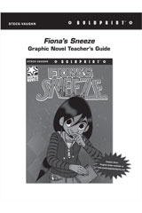 Steck Vaughn BOLDPRINT Graphic Novels  Teaching Cards Fiona's Sneeze-9780547888019