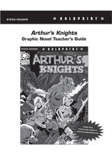 Steck Vaughn BOLDPRINT Graphic Novels  Teaching Cards Authur's Knights-9780547888064