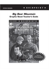 Steck Vaughn BOLDPRINT Graphic Novels  Teaching Cards Big Bear Mountain-9780547888071