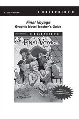 Steck Vaughn BOLDPRINT Graphic Novels  Teaching Cards Final Voyage-9780547888118