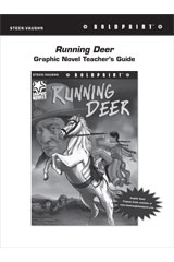 Steck Vaughn BOLDPRINT Graphic Novels  Teaching Cards Running Deer-9780547888149