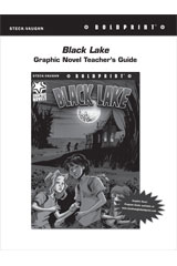 Steck Vaughn BOLDPRINT Graphic Novels  Teaching Cards Black Lake-9780547888163