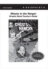 Steck Vaughn BOLDPRINT Graphic Novels  Teaching Cards Ghosts in the Hangar-9780547888194