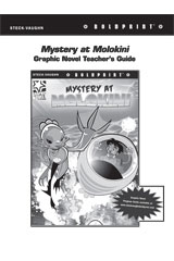 Steck Vaughn BOLDPRINT Graphic Novels  Teaching Cards Mystery at Molokini-9780547888217