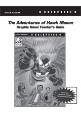 Steck Vaughn BOLDPRINT Graphic Novels  Teaching Cards The Adventures of Hawk Mason-9780547888231