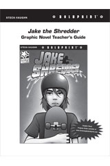 Steck Vaughn BOLDPRINT Graphic Novels  Teaching Cards Jake the Shredder-9780547888279